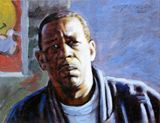 Oil painting on art board