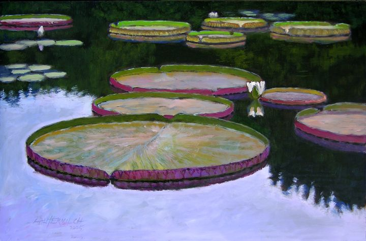 Still Waters 163-2005 - Paintings by John Lautermilch