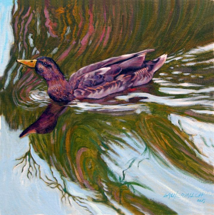 In Her Element - Paintings by John Lautermilch