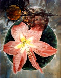 Botanical Planet 126-2005 - Paintings by John Lautermilch