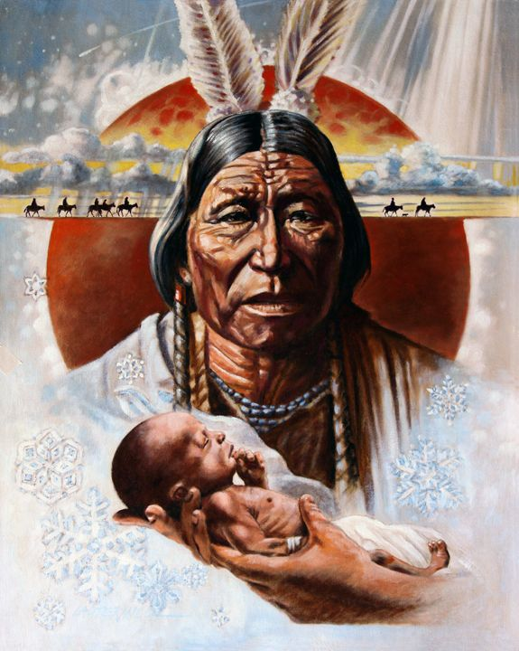 The Circle of Life 173-1990 - Paintings by John Lautermilch