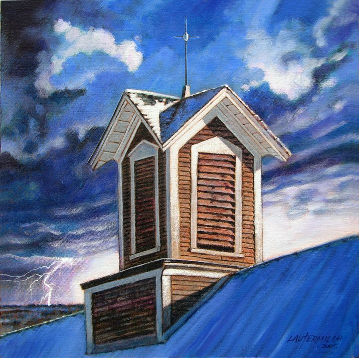 The Lightening Rod - Paintings by John Lautermilch