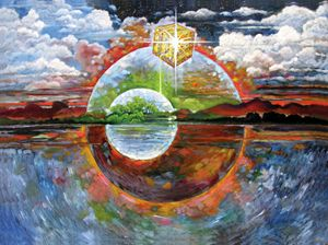 New Heaven and Earth - Paintings by John Lautermilch