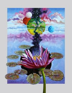 Water Lily Seeds - Paintings by John Lautermilch