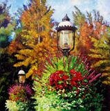 Gas Light Square - Paintings by John Lautermilch