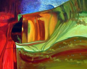Abstract 38-2004 - Paintings by John Lautermilch