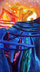 Abstract 48-2004 - Paintings by John Lautermilch