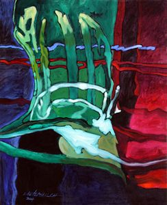 Abstract 51-2004 - Paintings by John Lautermilch