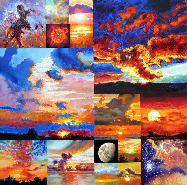 Sunrise, Sunset, Sunrise... - Paintings by John Lautermilch