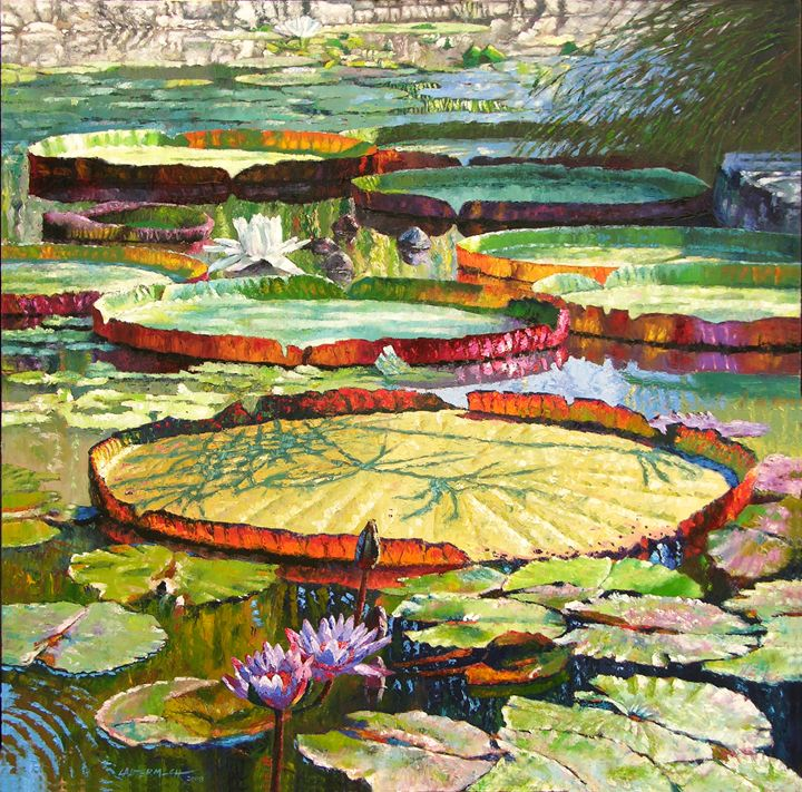 Interwoven Beauty - Paintings by John Lautermilch