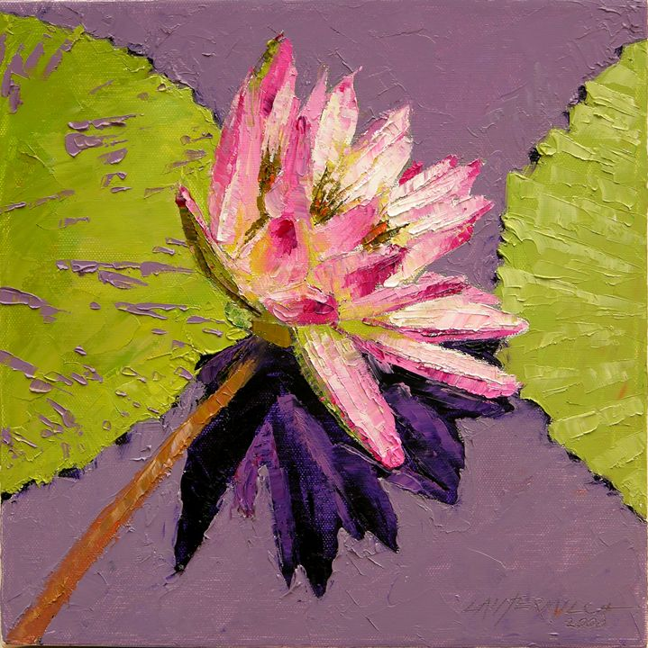 Painted Lily 20-2008 - Paintings by John Lautermilch