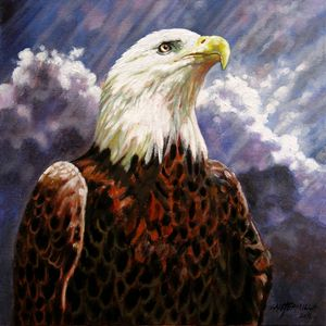 God Bless America - Paintings by John Lautermilch