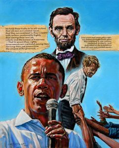 Obama's Heritage - Paintings by John Lautermilch