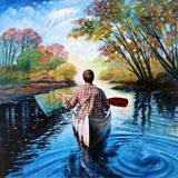 River of Dreams - Paintings by John Lautermilch