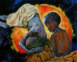 1st Corinthians 1:25 - 73-2008 - Paintings by John Lautermilch