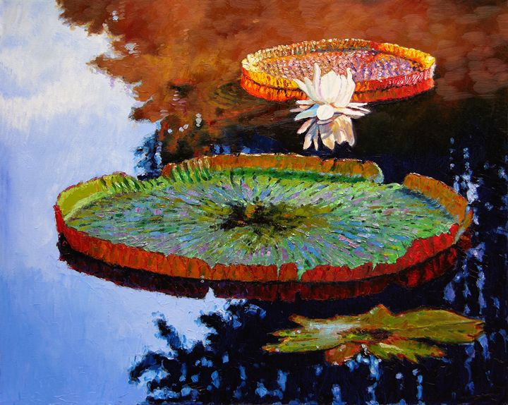 A Day of Peace - Paintings by John Lautermilch