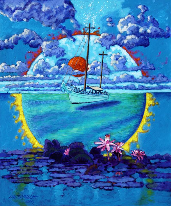 Life Boat - Paintings by John Lautermilch