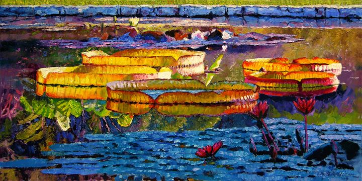 Sun, Color and Paint - Paintings by John Lautermilch