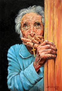 Fear and Faith - Paintings by John Lautermilch