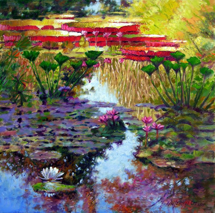 Impressions of Summer Colors 29-2009 - Paintings by John Lautermilch