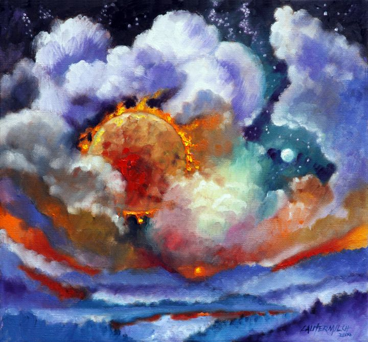 The Day the Sun Stood Still 74-2009 - Paintings by John Lautermilch