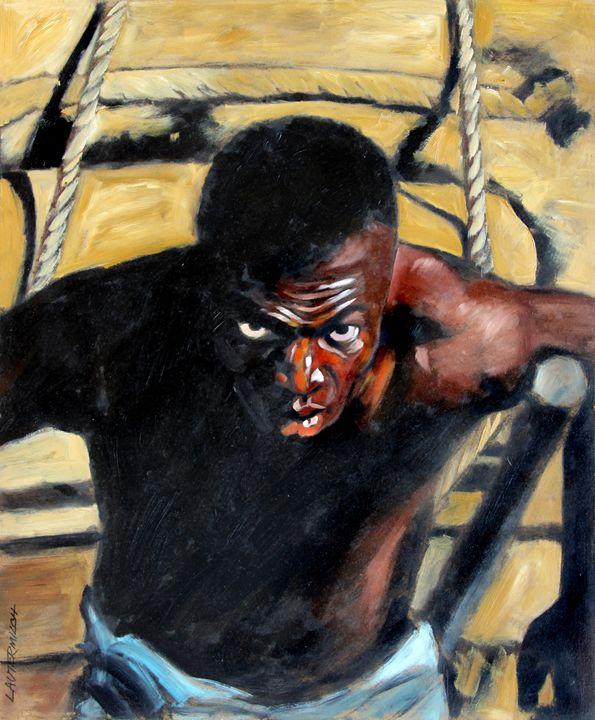 Bondage 76-2009 - Paintings by John Lautermilch