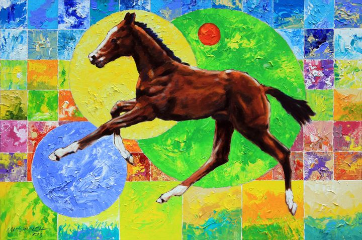 Life springs Eternal - Paintings by John Lautermilch