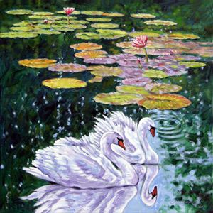The Beauty of Peace 27-2009 - Paintings by John Lautermilch