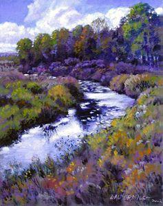 Brush Colorado 5-2003 - Paintings by John Lautermilch