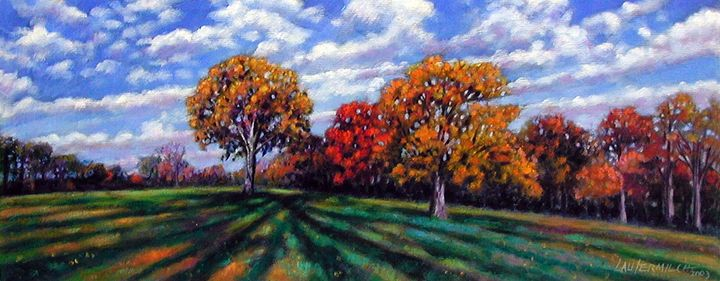 Long Shadows 25-2003 - Paintings by John Lautermilch