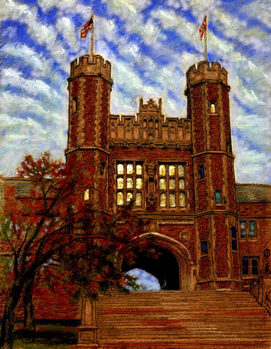 Washington University 40-2003 - Paintings by John Lautermilch