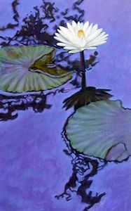 Dancing Reflections 41-2003 - Paintings by John Lautermilch