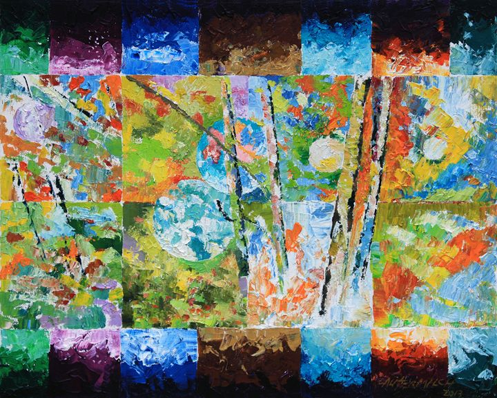 From Eternity Back to Eternity 52-20 - Paintings by John Lautermilch