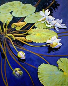 Trailing Beauty 4-2002 - Paintings by John Lautermilch