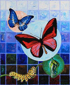 Metamorphosis of the New Life - Paintings by John Lautermilch