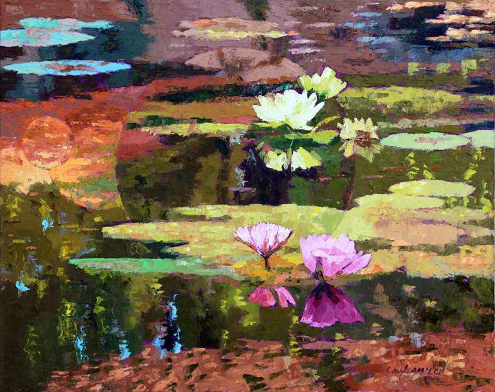 Far Away Dreams 58-2013 - Paintings by John Lautermilch