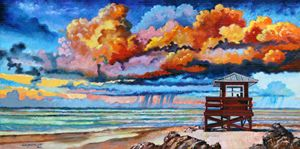 Dreaming of Siesta Key 1-2014 - Paintings by John Lautermilch