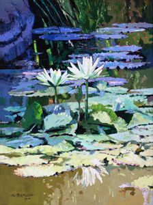 Impressions of Sunlight 4-2014 - Paintings by John Lautermilch