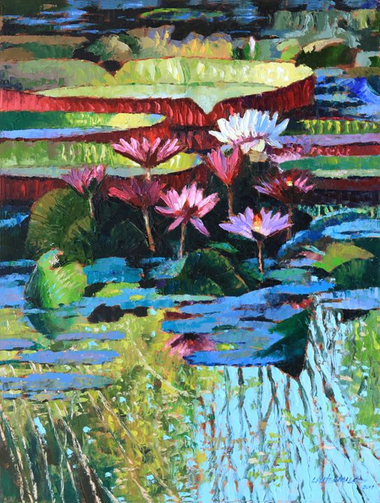 A splash of Sunlight - Paintings by John Lautermilch