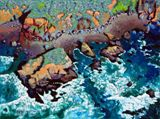 Along California Coastline - Paintings by John Lautermilch