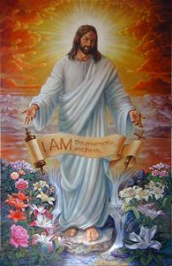 I Am The Resurrection - Paintings by John Lautermilch