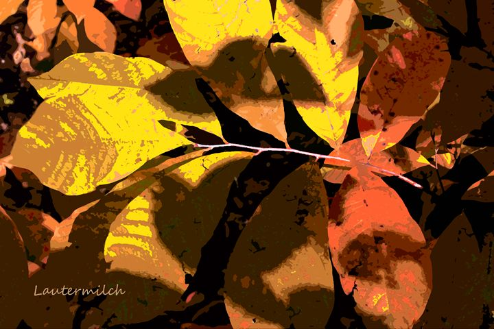 Fall Leaves 2013 - Paintings by John Lautermilch