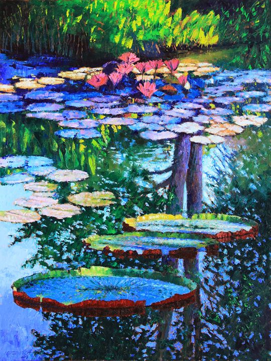 Passion for Color and Light - Paintings by John Lautermilch