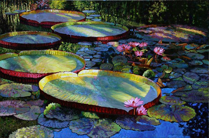 First Morning Light - Paintings by John Lautermilch