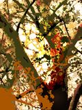 Painted Tree - Paintings by John Lautermilch