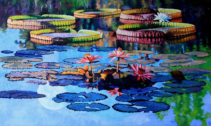 Reflections of Nature's Beauty - Paintings by John Lautermilch