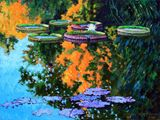 First Signs of Fall - Paintings by John Lautermilch