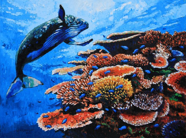 The World Down Under - Paintings by John Lautermilch