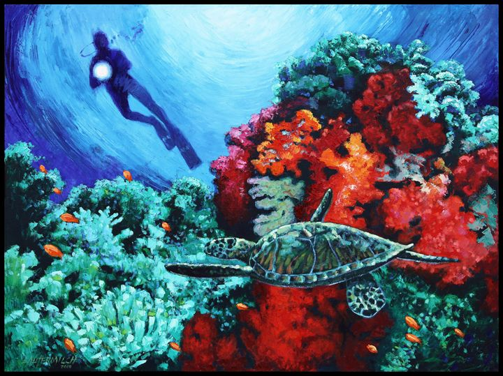 Spotlight On Creation - Paintings by John Lautermilch