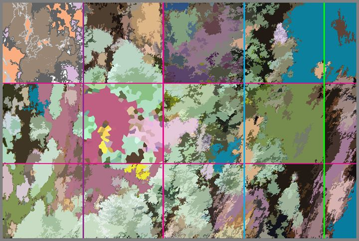 Satellite Photo of a New World - Paintings by John Lautermilch